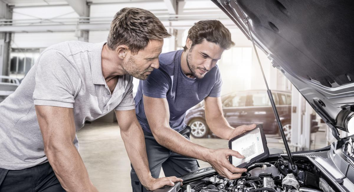 Bosch Diagnostics and Repair solutions and services for workshops